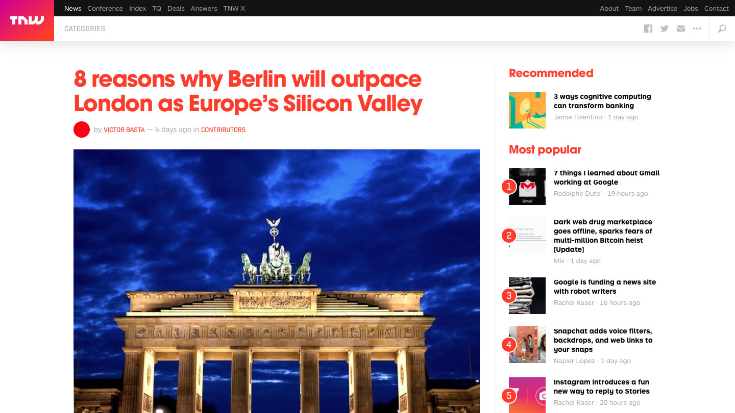 8 reasons why Berlin will outpace London as Europe's Silicon Valley