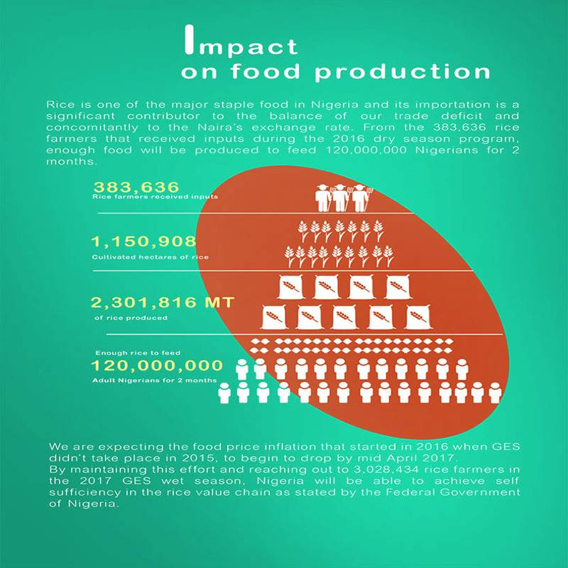 Impact on Food Production