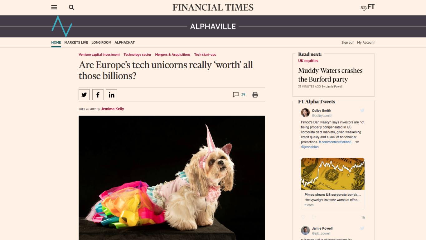 Are Europe's tech unicorns really 'worth' all those billions?